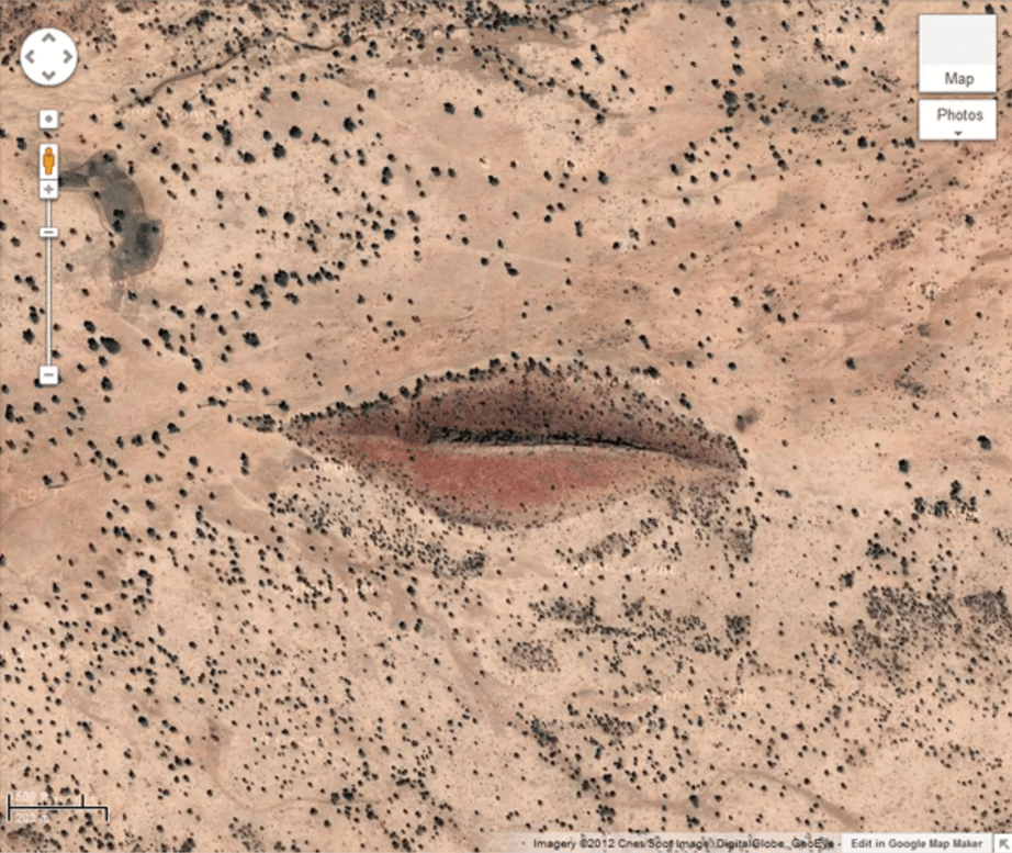 luoghi misteriosi google earth