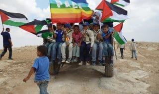 palestina nonviolenza intifda