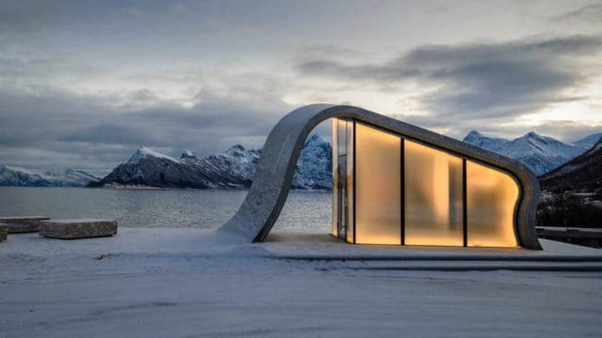 bagno pubblico più bello mondo norvegia