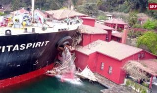 turchia nave distrugge villa ozpetek