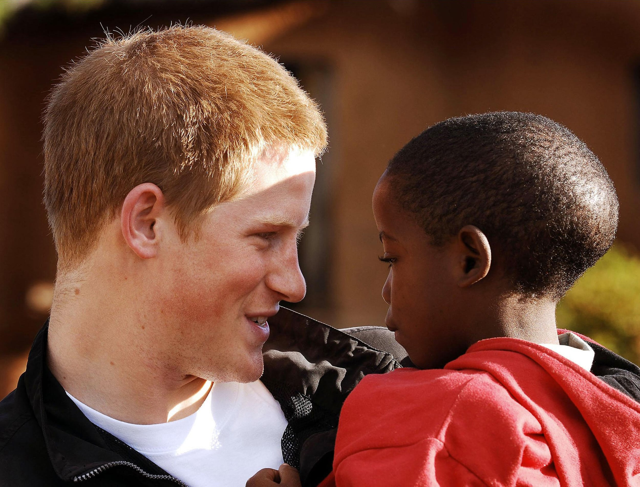 orfano africano royal wedding