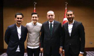 Erdogan Ozil Gundogan