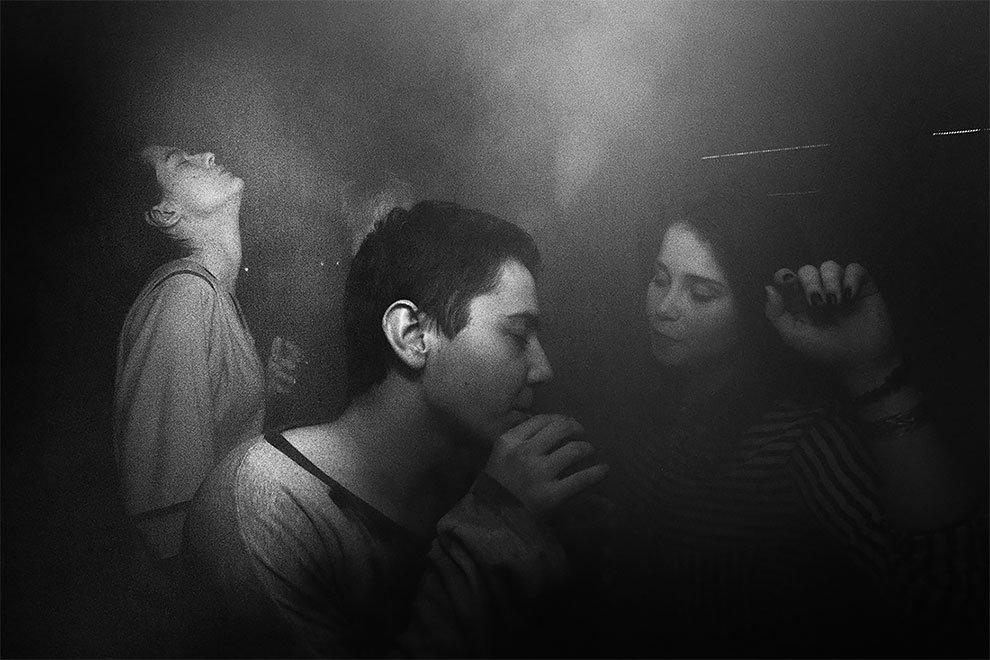 foto giovani russi rave