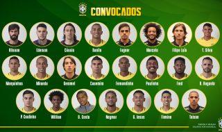 Convocati Brasile Mondiale