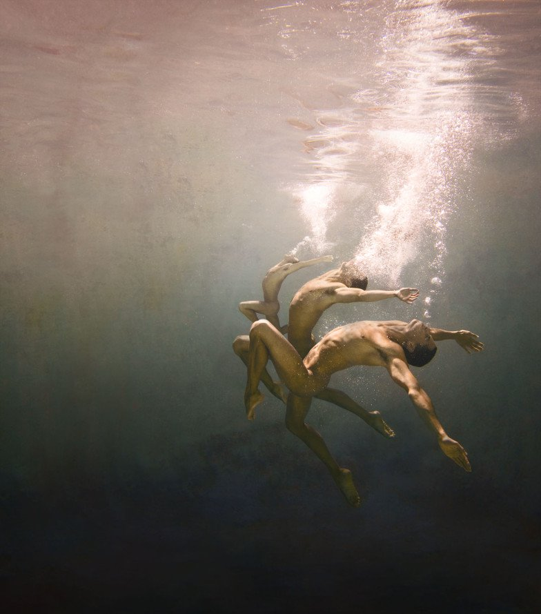 ed freeman underwater