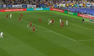 Real Madrid Liverpool gol rovesciata bale