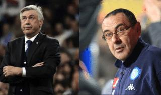 Ancelotti Sarri paragone