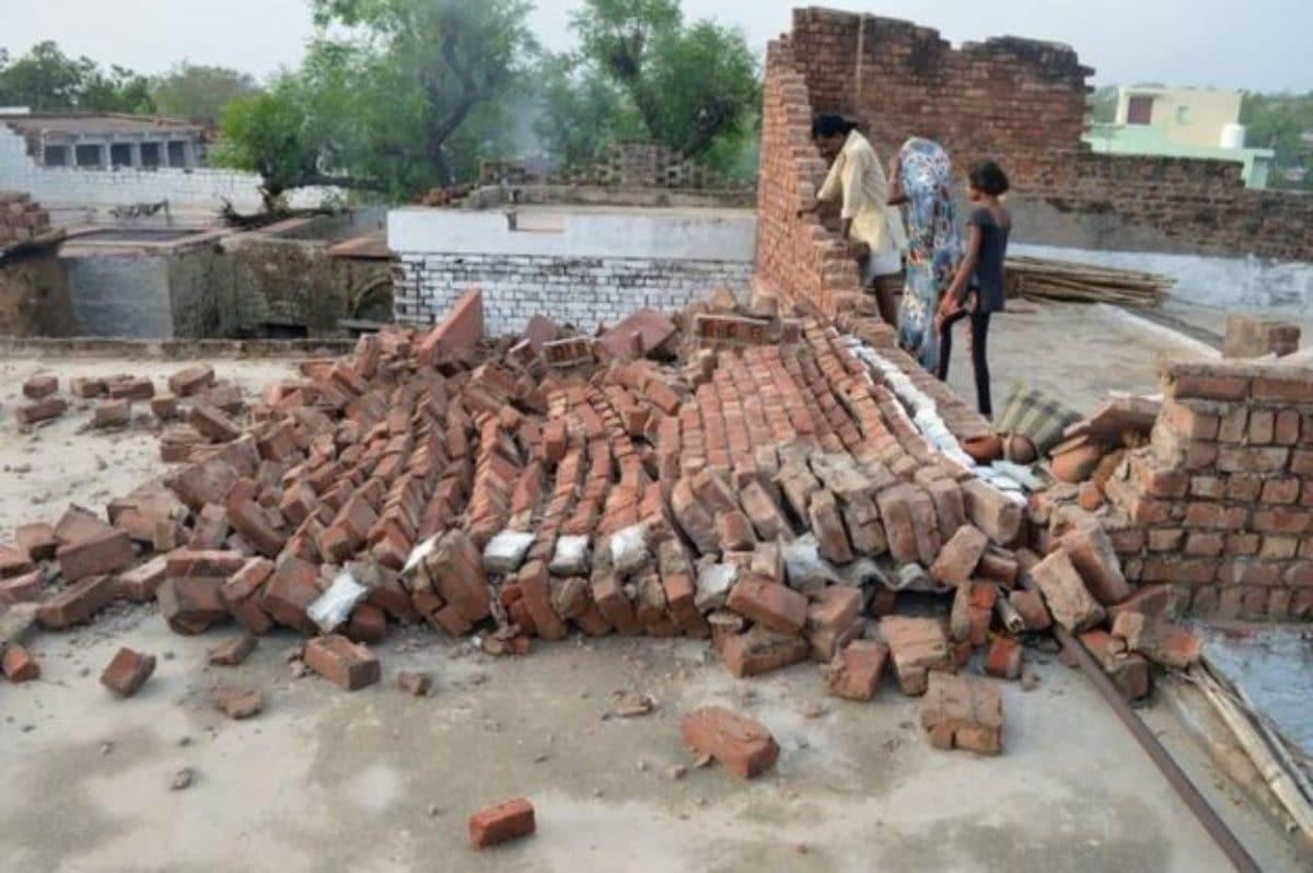 India tempeste sabbia morti