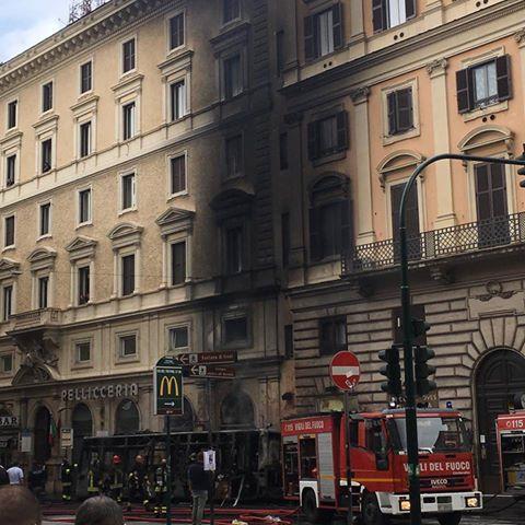 Roma bus esplosione