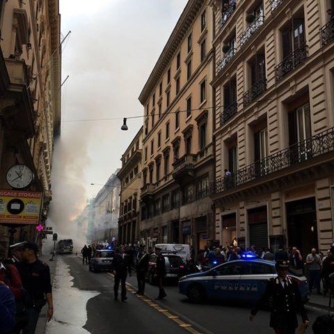 Roma bus esploso
