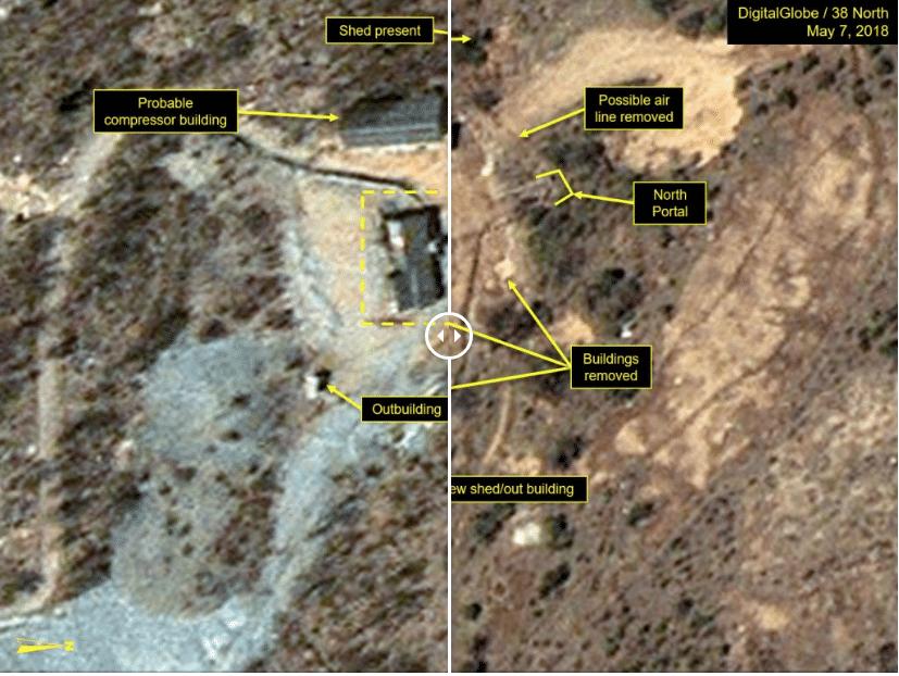 corea nord sito nucleare