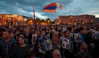 armenia news proteste