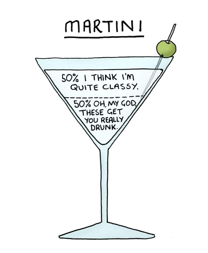 illustrazioni drink Chaz Hutton