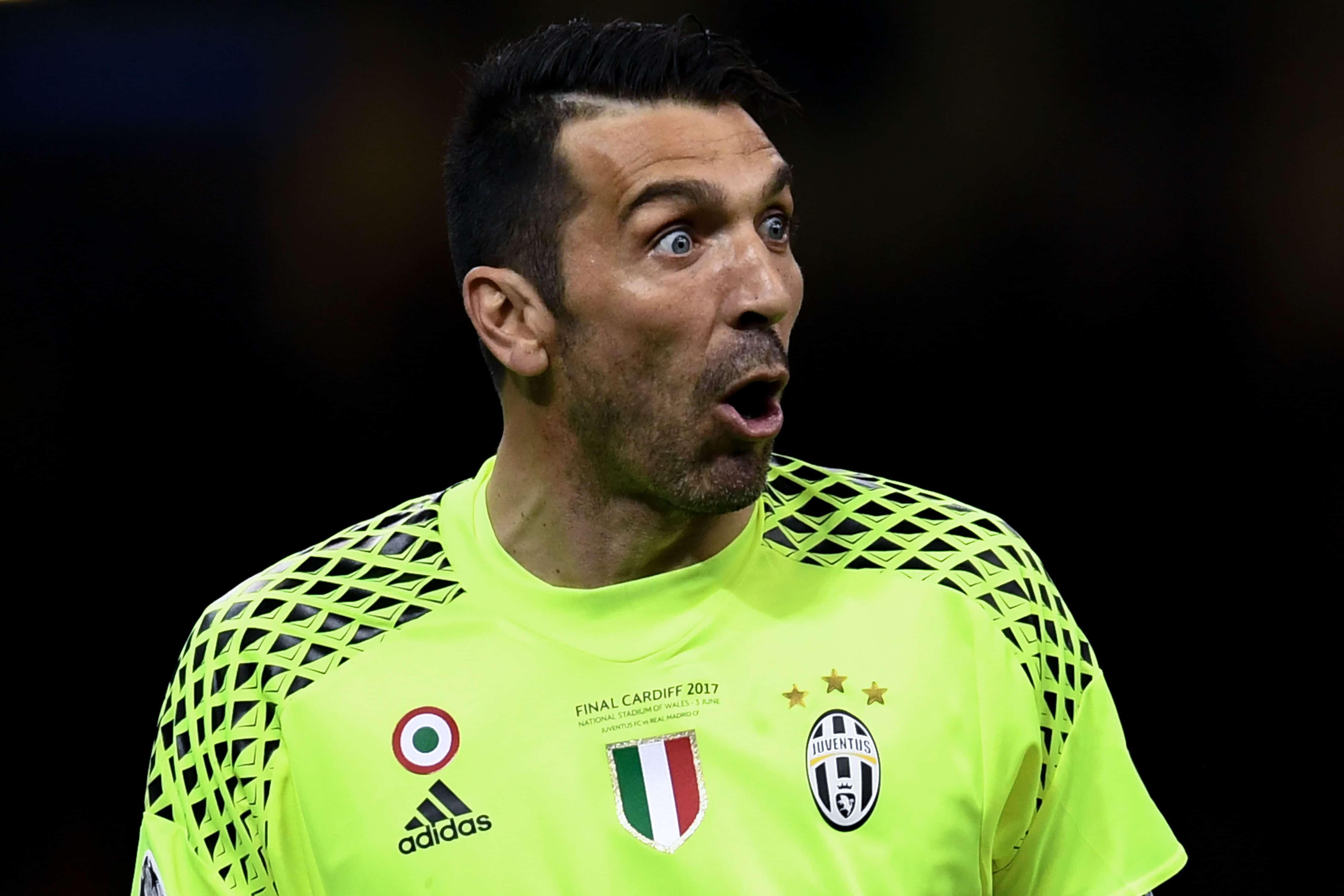 Buffon Real Juve