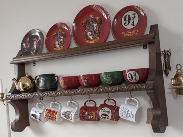 appartamento harry potter