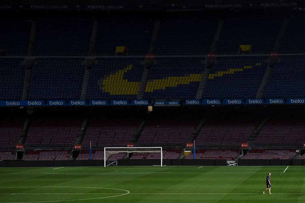 Iniesta addio al Barcellona
