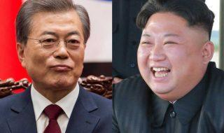 leader corea nord sud incontro