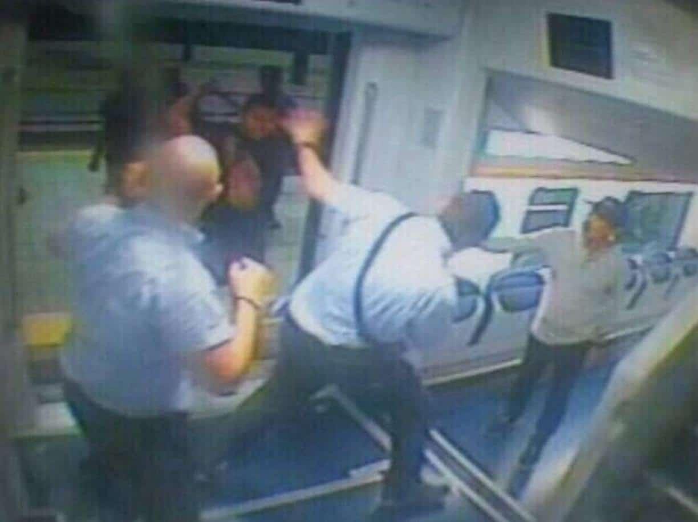 poliziotto picchiato lecco