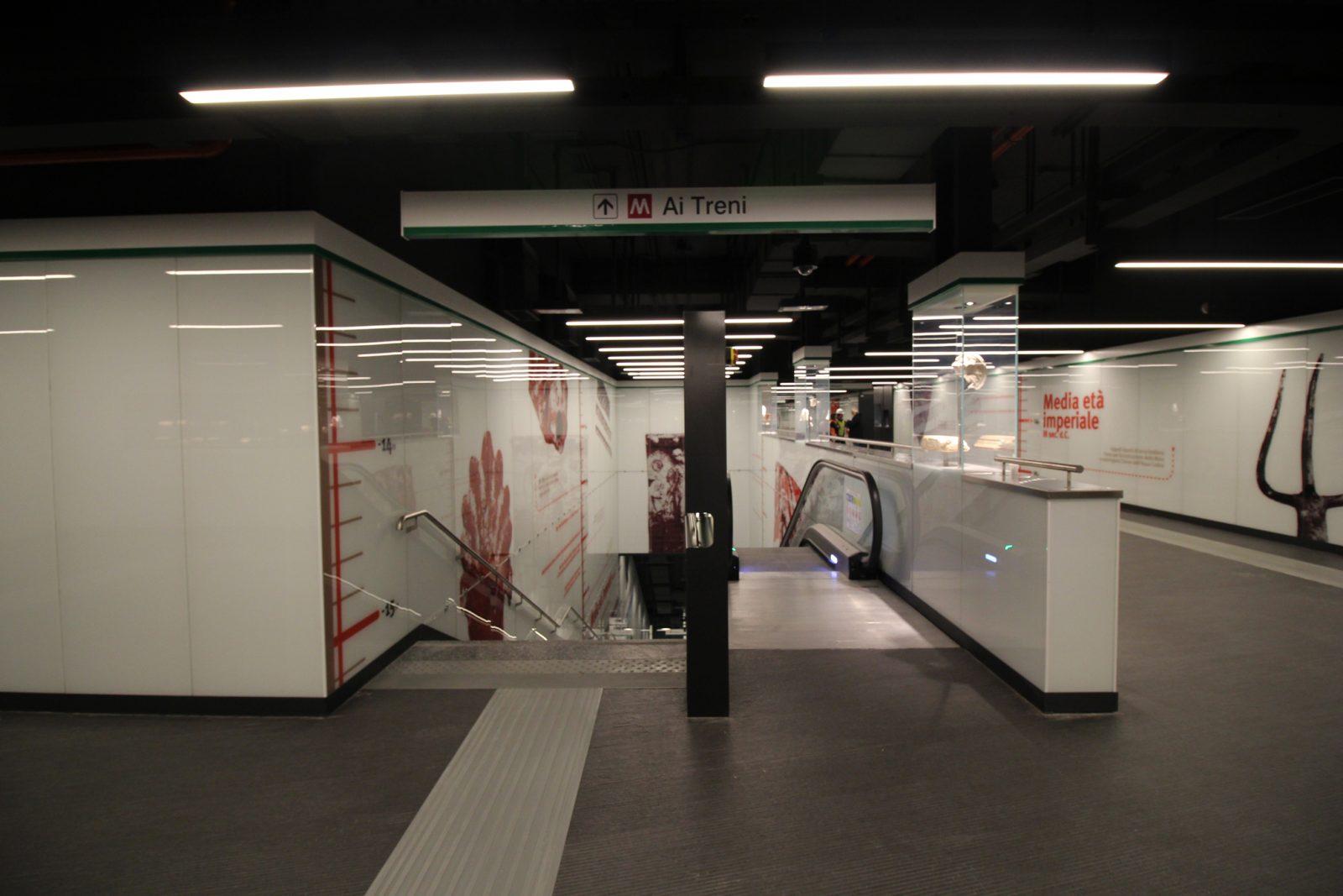 metro c san giovanni apertura