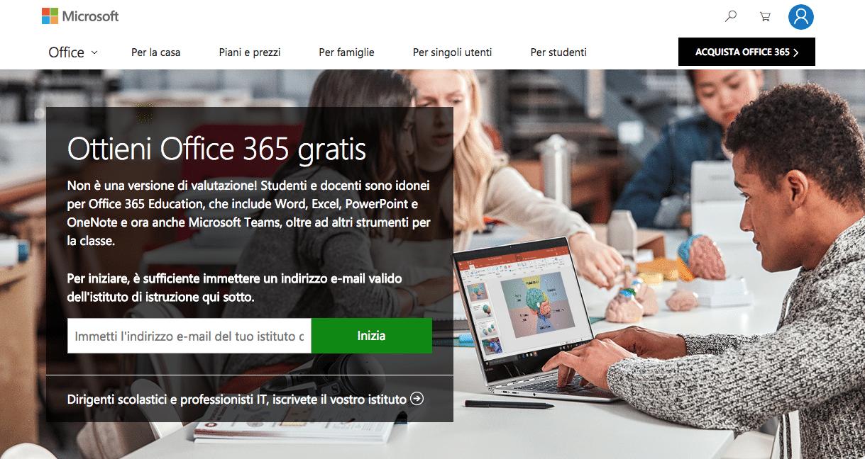 microsoft office 365 gratis