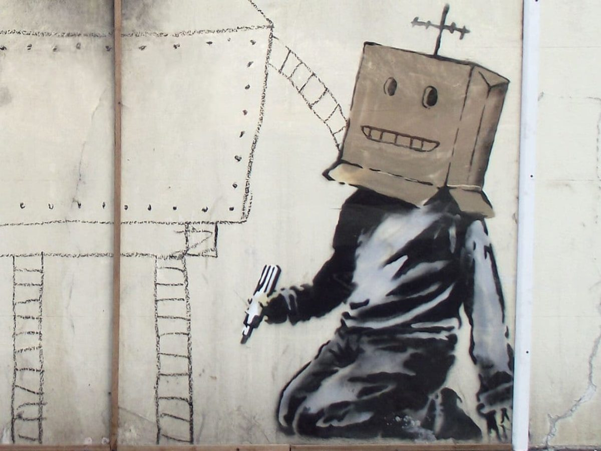 Elena Ferrante Banksy anonimato