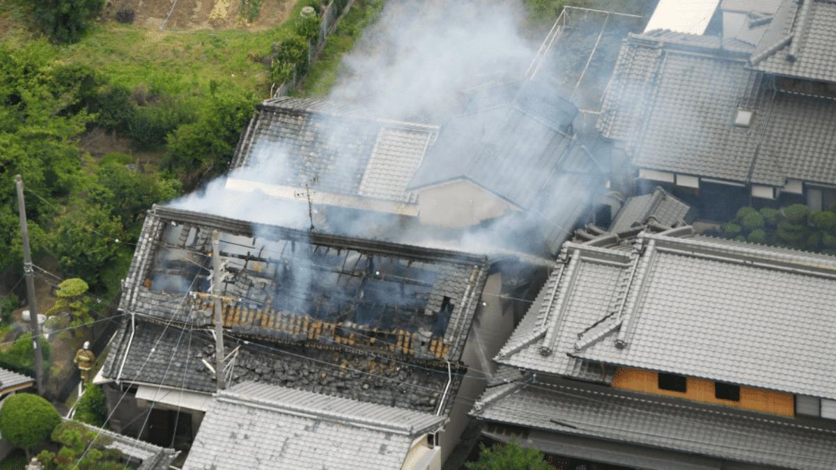 Terremoto Giappone Osaka video