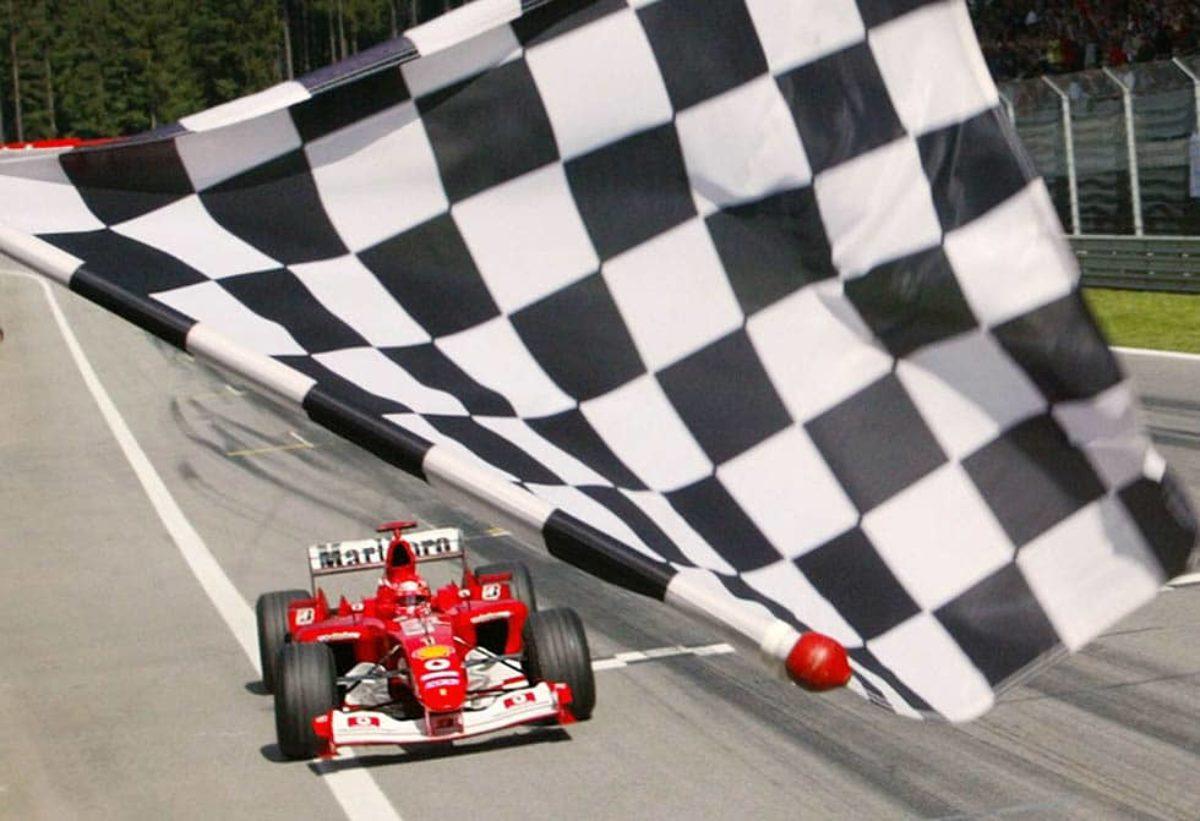 Gp Canada bandiera a scacchi