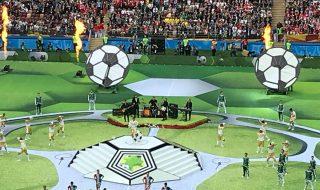 Cerimonia apertura Mondiali diretta live in tempo reale
