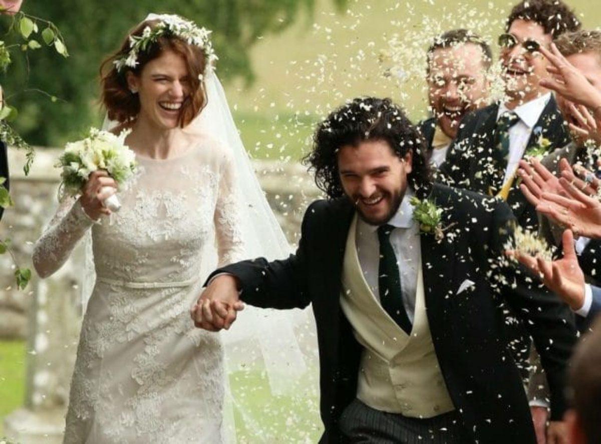 Matrimonio Kit Harington Rose Leslie