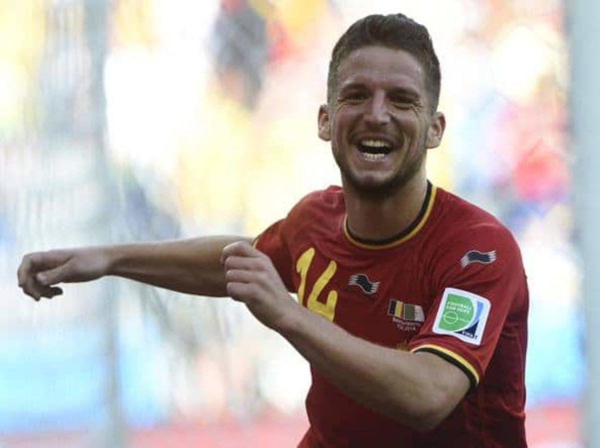 Gol Mertens Belgio-Panama