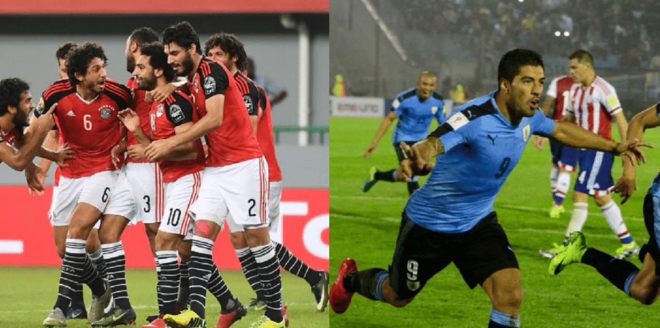 Egitto Uruguay diretta live in tempo reale