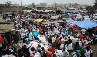 Kenya incendio mercato