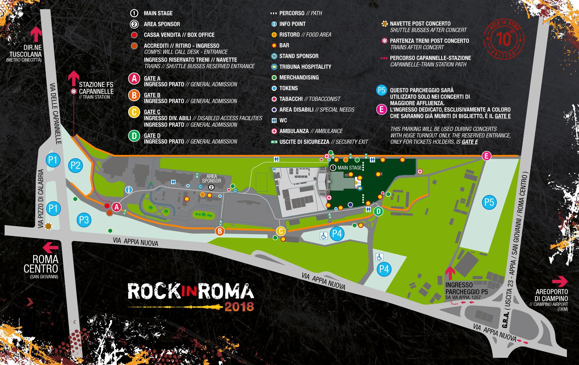 Rock in Roma 2018