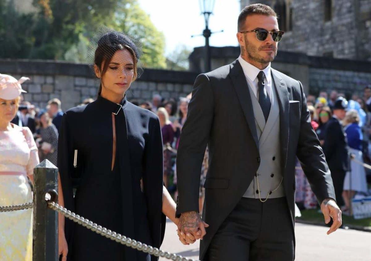 beckham victoria royal wedding