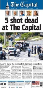 vittime sparatoria capital gazette