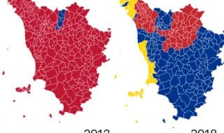 risultati amministrative toscana 2018