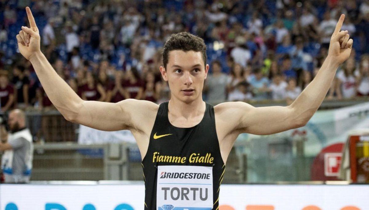 Filippo Tortu record