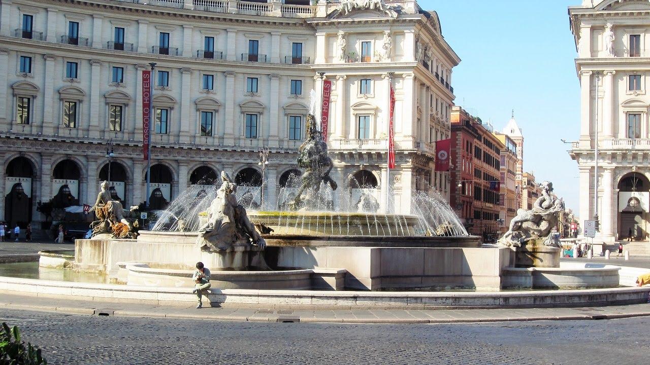 omicidio roma piazza della repubblica