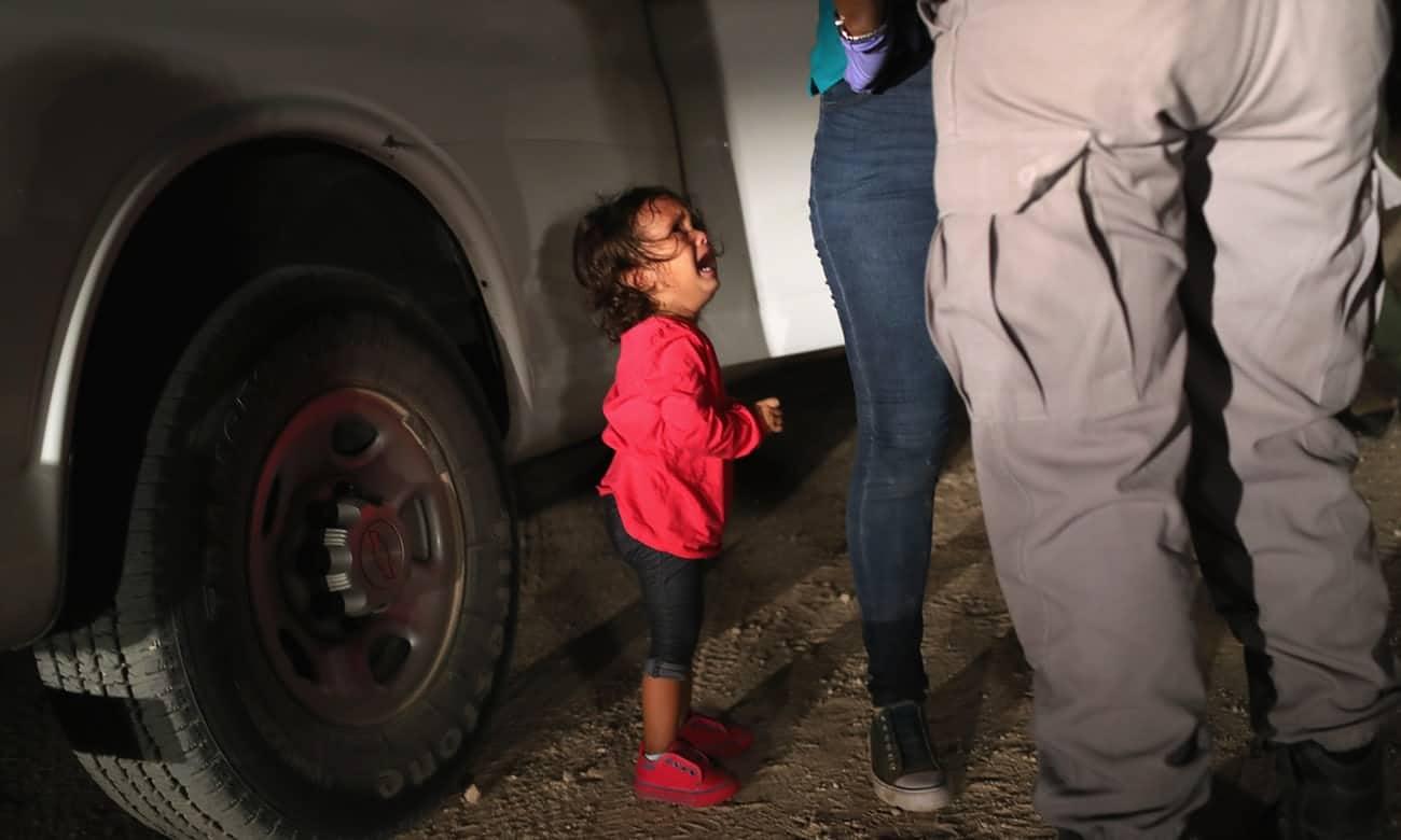 trump bambini migranti
