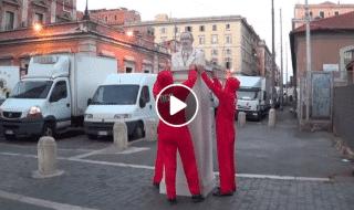statua Keynes Roma
