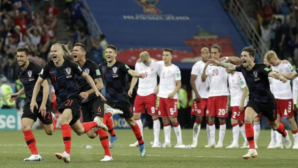 Risultati immagini per croazia di rigore contro la Russia