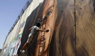 Ahed Tamini murales