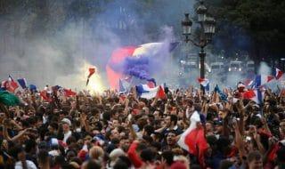 Francia festa mondiali parata