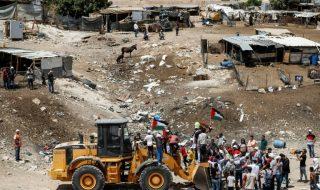 israele dividere cisgiordania