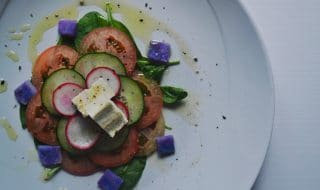 PURPLE GREEK SALAD