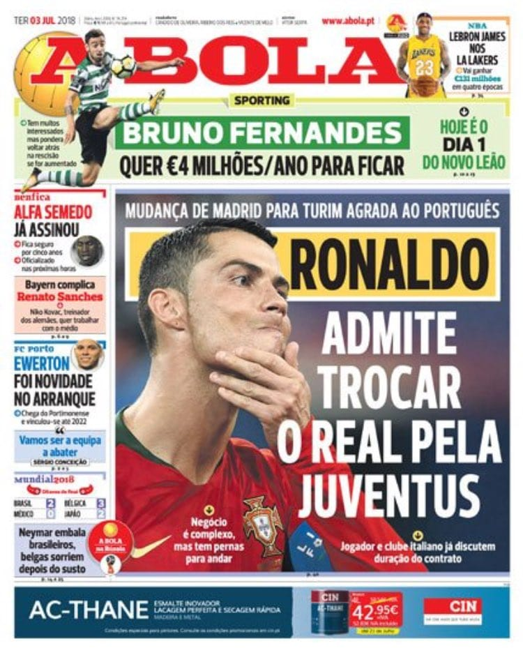 Ronaldo alla juventus