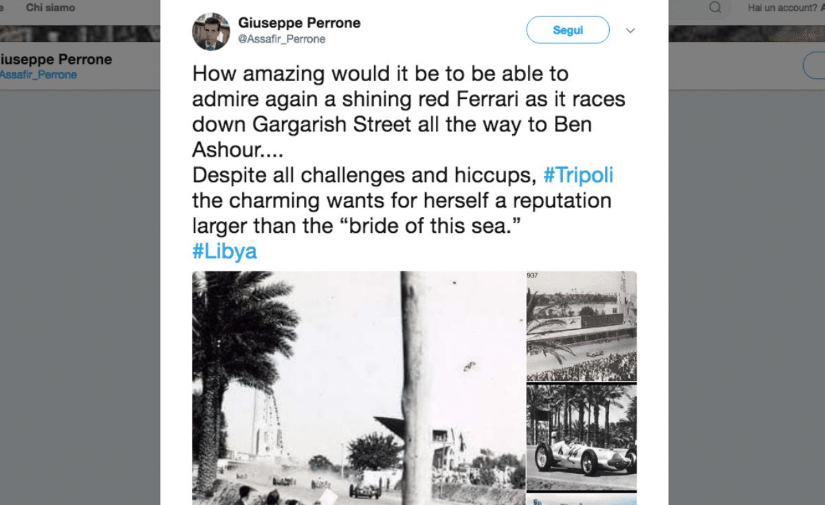 ambasciatore italiano foto libia coloniale