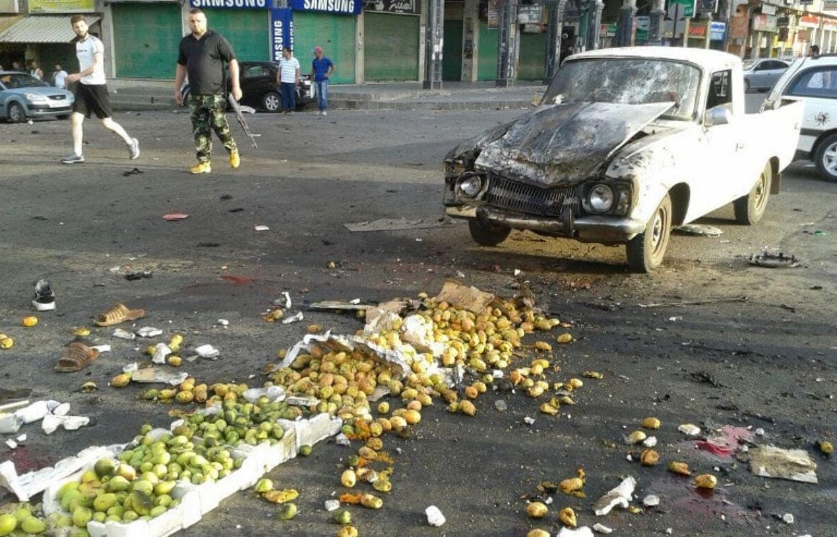 Siria attentato