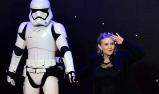 carrie fisher star wars ix