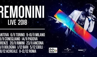 cesare cremonini tour 2018